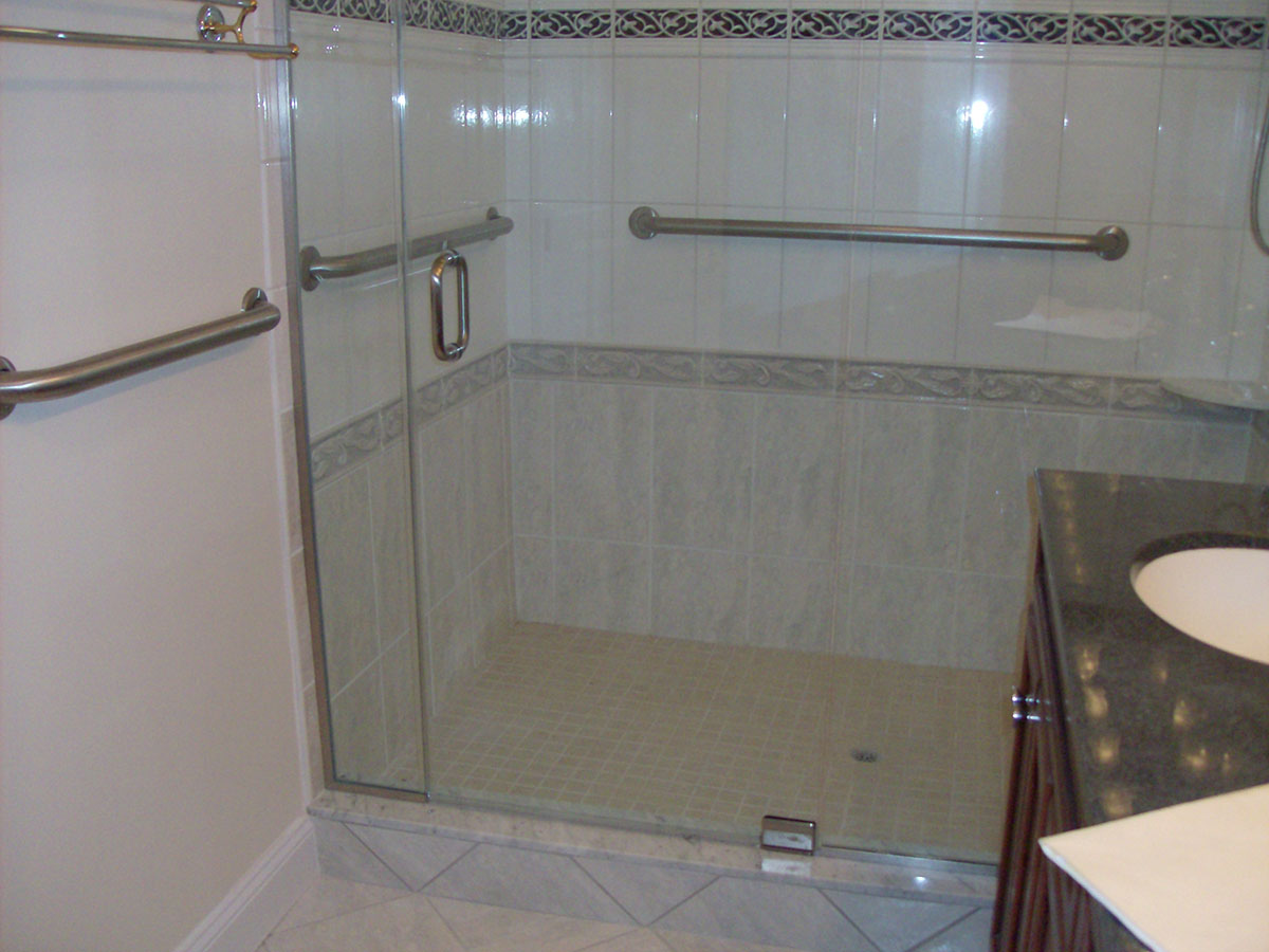 Adding a Walk-In Shower