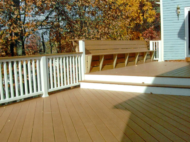 Three Level Deck