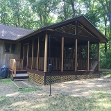 Mahogany Deck & Screened Porch