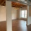 Finished basement with open ceiling